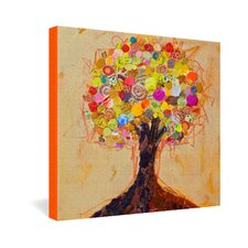 Elizabeth St Hilaire Nelson Summer Tree Gallery Wrapped Canvas