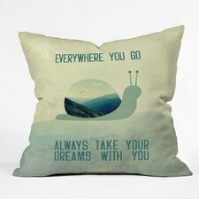 <strong>DENY Designs</strong> Belle13 Always Take Your Dreams with You Polyester Throw Pillow