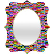 <strong>DENY Designs</strong> Fimbis A Good Day Quatrefoil Mirror
