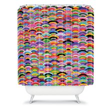 Fimbis A Good Day Polyester Shower Curtain
