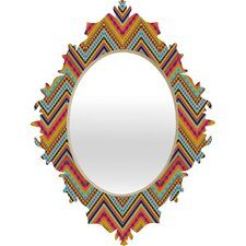 <strong>DENY Designs</strong> Amy Sia Tribal Chevron Baroque Mirror