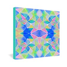<strong>DENY Designs</strong> Amy Sia Chroma Blue Gallery Wrapped Canvas
