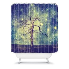 Belle13 As Old As Time Polyester Shower Curtain