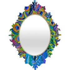 Elizabeth St Hilaire Nelson Cacophony of Color Baroque Mirror