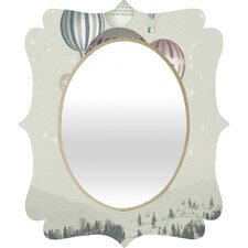 Belle13 Winter Dreamflight Quatrefoil Mirror
