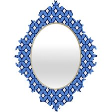 <strong>DENY Designs</strong> Caroline Okun Blueberry Baroque Mirror