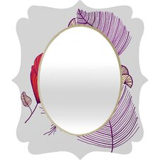 Gabi Sea Leaves Quatrefoil Mirror