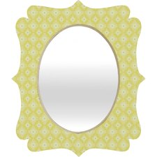 Caroline Okun Spirals Quatrefoil Mirror