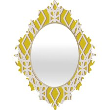<strong>DENY Designs</strong> Aimee St Hill Diamonds Baroque Mirror