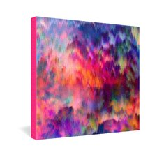 Amy Sia Sunset Storm Gallery Wrapped Canvas