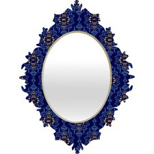 Belle13 Royal Damask Pattern Baroque Mirror