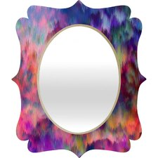 <strong>DENY Designs</strong> Amy Sia Sunset Storm Quatrefoil Mirror