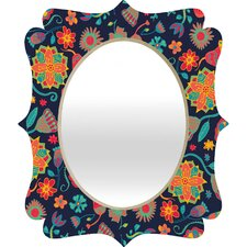 <strong>DENY Designs</strong> Arcturus Bloom 1 Quatrefoil Mirror