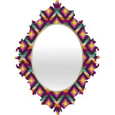 Bianca Green Aztec Diamonds Hammock Baroque Mirror