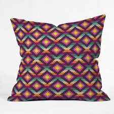 Bianca Green Aztec Diamonds Hammock Polyester Throw Pillow
