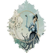Belle 13 Sea Fairy Wall Clock