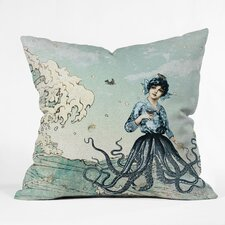 <strong>DENY Designs</strong> Belle13 Sea Fairy Polyester Throw Pillow