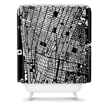CityFabric Inc Woven Polyester NYC Shower Curtain