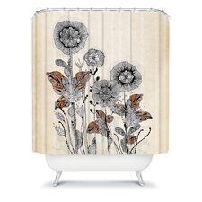 Iveta Abolina Polyester Floral 3 Shower Curtain