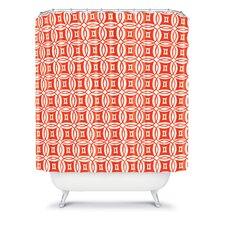 Khristian A Howell Woven Polyester Desert Twilight Shower Curtain