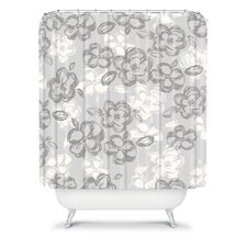 Khristian A Howell Woven Polyester Russian Ballet Soho Shower Curtain