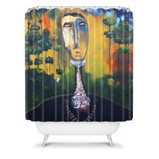 Robin Faye Gates Polyester forest for Trees Shower Curtain
