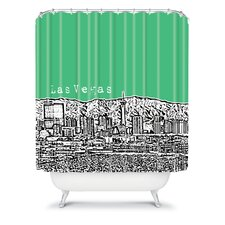 Bird Ave Woven Polyester Las Vegas Shower Curtain
