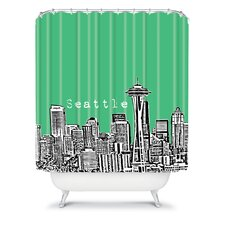 Bird Ave Woven Polyester Seattle Shower Curtain