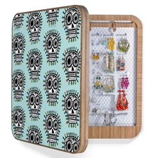 <strong>DENY Designs</strong> Andi Bird Sugar Skull Fun Bling Box