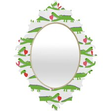 Andi Bird Alligator Love Baroque Mirror