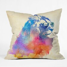 Robert Farkas Sunny Leo Outdoor Throw Pillow