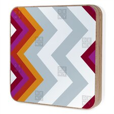 <strong>DENY Designs</strong> Karen Harris Modernity Solstice Warm Chevron Bling Box