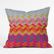 Sharon Turner Geo Chevron Throw Pillow