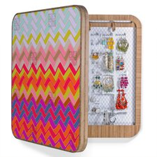Sharon Turner Geo Chevron Bling Box