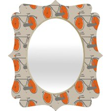 <strong>DENY Designs</strong> Mummysam Bicycles Quatrefoil Mirror
