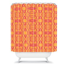Pattern State  Shotgirl Tang Woven Polyester Shower Curtain