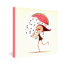 Jose Luis Guerrero Watermelon Gallery Wrapped Canvas