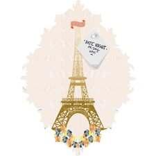 Jennifer Hill Paris Eiffel Tower Baroque Magnet Board