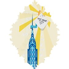 Jennifer Hill New York City Chrysler Building Baroque Magnet Board