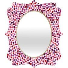 Garima Dhawan Dots Berry Quatrefoil Mirror