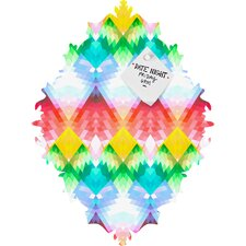 Deniz Ercelebi Crystal Rainbow Baroque Magnet Board