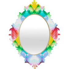 <strong>DENY Designs</strong> Deniz Ercelebi Crystal Rainbow Baroque Mirror