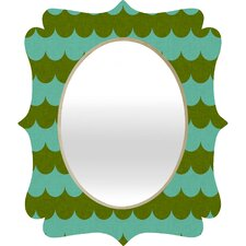 <strong>DENY Designs</strong> Holli Zollinger Waves of Color Quatrefoil Mirror