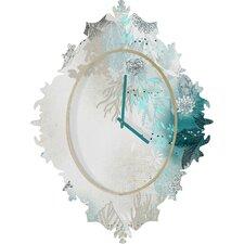 Iveta Abolina Seafoam Wall Clock
