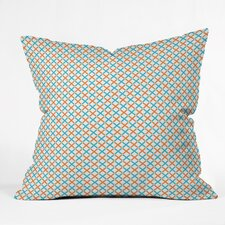 Tammie Bennett X Check Polyester Throw Pillow