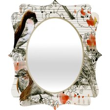 Randi Antonsen Love Birds Wall Mirror
