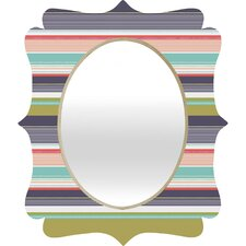 <strong>DENY Designs</strong> Wendy Kendall Multi Stripe Wall Mirror