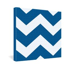 <strong>DENY Designs</strong> Holli Zollinger Chevron Canvas Wall Art