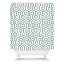 Caroline Okun Polyester Icicle Shower Curtain