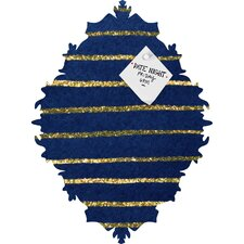 Social Proper Nautical Sparkle Magnet Board
